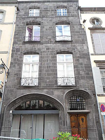 Riom. Hôtel Guymoneau
