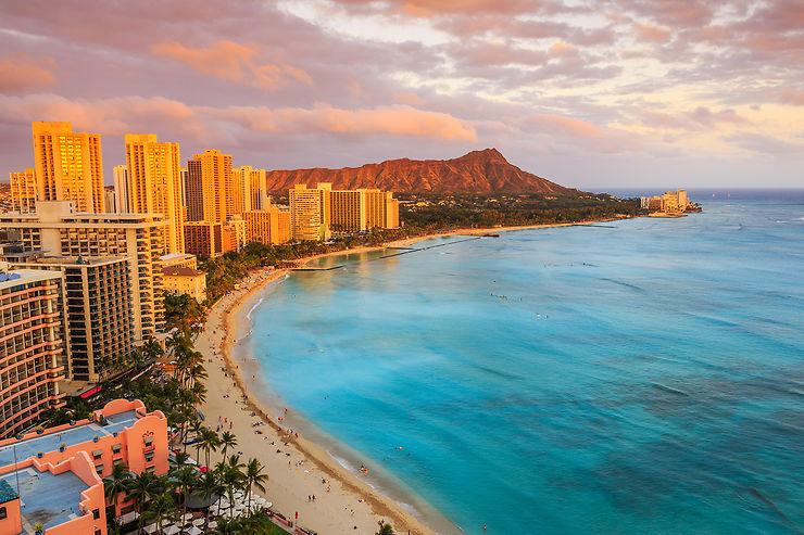 Waikiki, la plage la plus célèbre du Pacifique