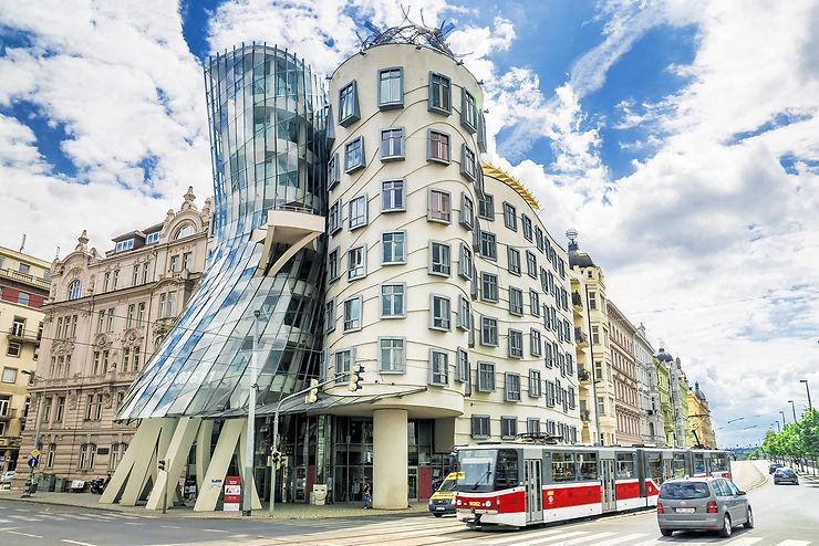 Une maison qui danse... - Prague