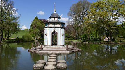Pavillon Turc du parc floral d'Apremont