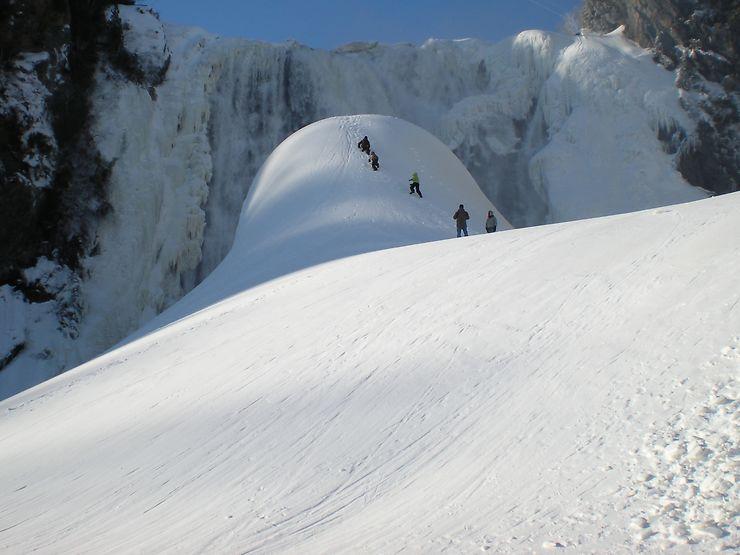 Pain de sucre...glacé! Parc de la Chute-Montmorency, Québec