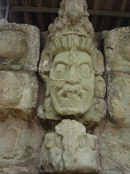 Le dieu du tonnerre à Copan