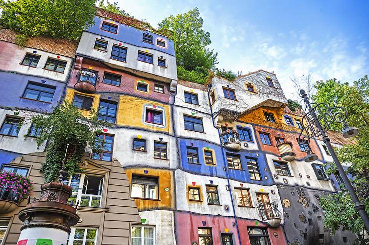 Hundertwasserhaus - Vienne, Autriche