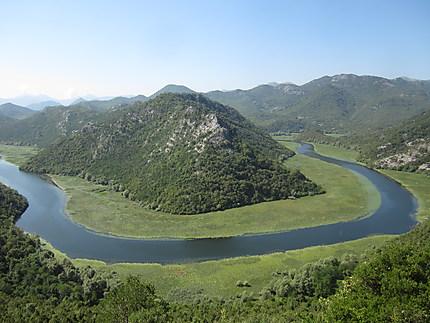 Méandre Rijeke Crnojevica