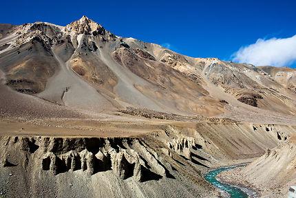 Route reliant Manali à Leh capitale du Ladakh