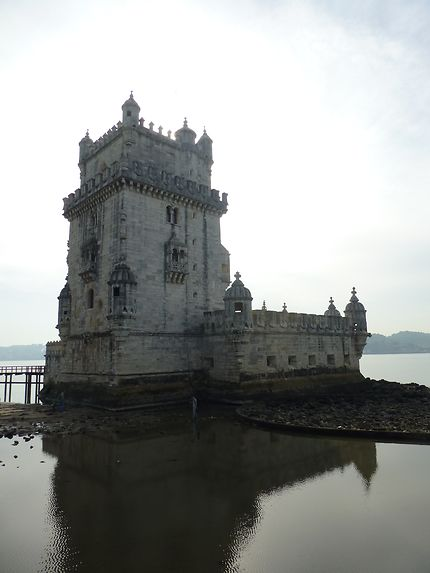 Sous un autre angle, torre de Belém, Lisbonne