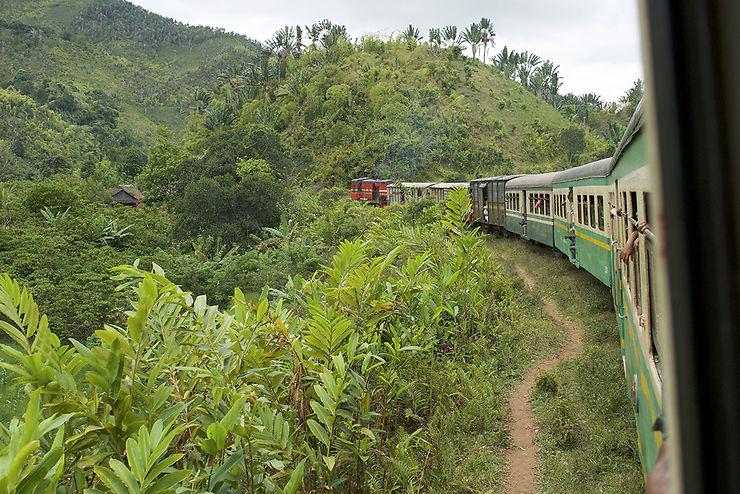 Le train de Fianarantsoa à Manakara