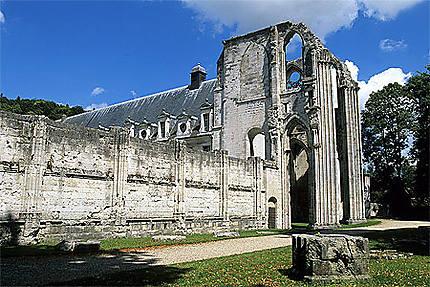 Ruines, abbaye de St-Wandrille