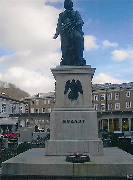 Statue de Mozart