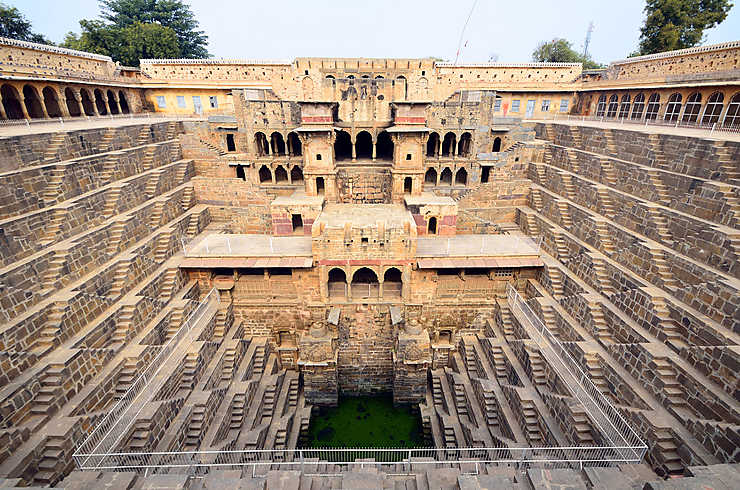 Inde - Chand Baori, une merveille méconnue du Rajasthan