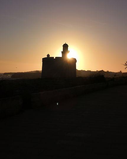 Coucher de soleil à Ciutadella, Minorque