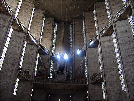 Eglise de Royan inside