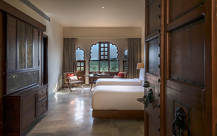 Inde - Rajasthan : un fort historique reconverti en hôtel