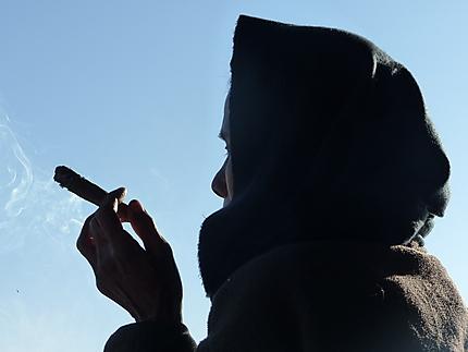 Fumeur de cigare