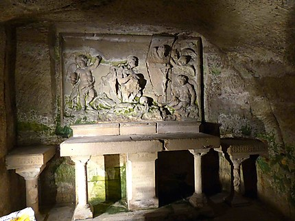 Abbaye Saint Victor - Crypte