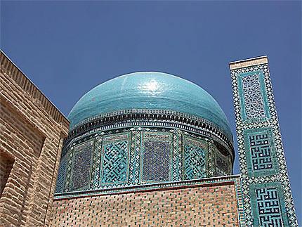 Coupole dans la Nécropole de Shah-i-Zinda
