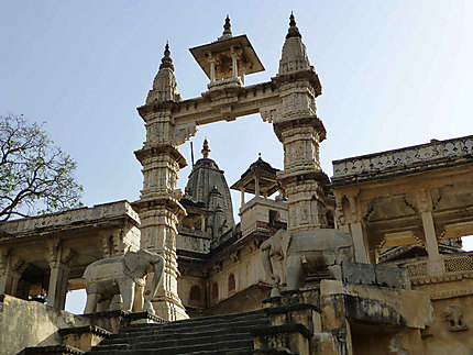 Temple Shiromani à Amber