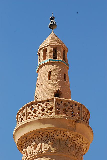 Minaret de la mosquée Jameh