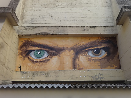 David Bowie's Eyes!
