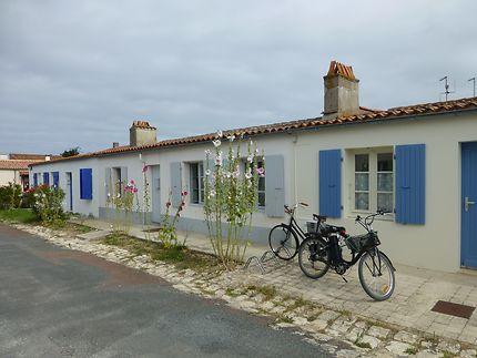 Maisons basses à Aix