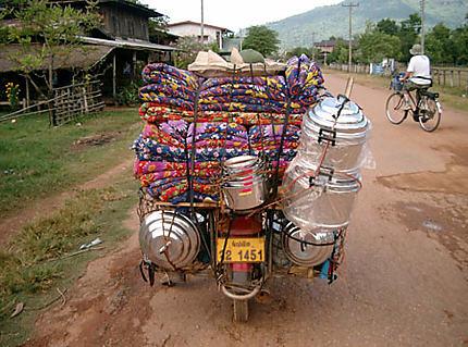 vendeur a moto