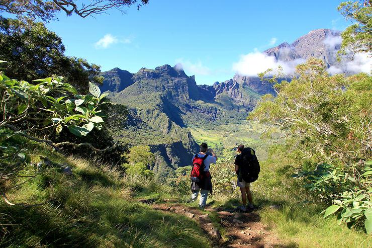 Randos à La Réunion, des fleurs volcaniques