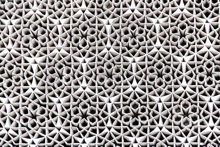 Grande Mosquée, gebs ou plâtre sculpté