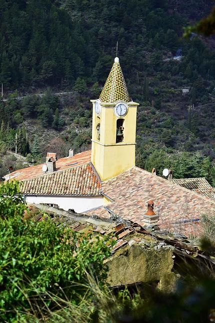 L'église de Sainte-Agnès