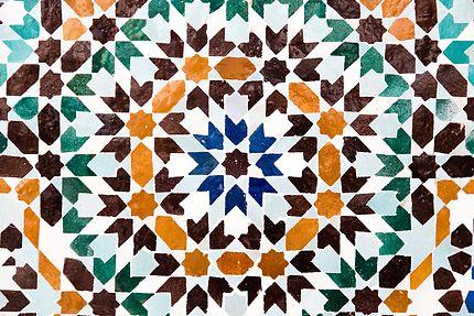Grande Mosquée, zelliges