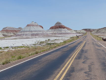 Route vers Painted Desert