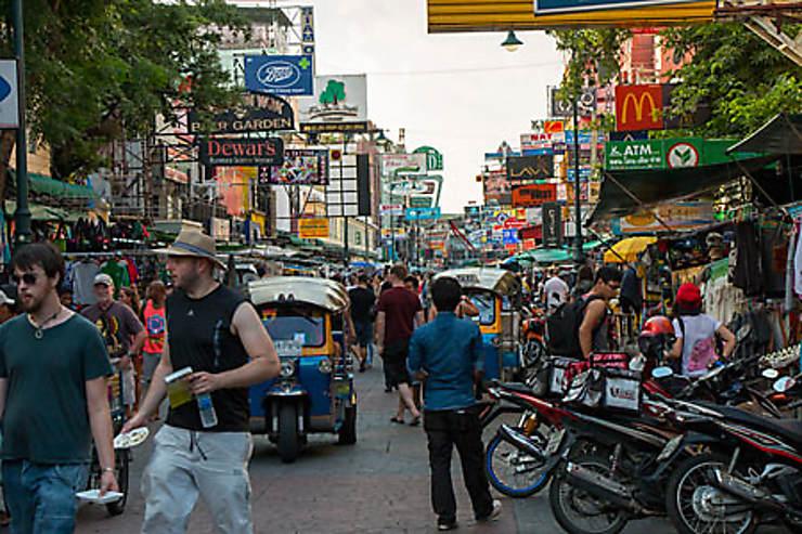 Khao San Road, petite rue devenue grande