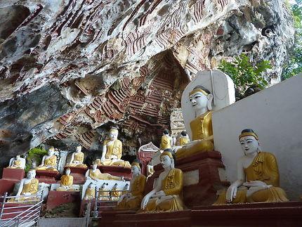Visite de la grotte de Sa Dan Cave, Birmanie