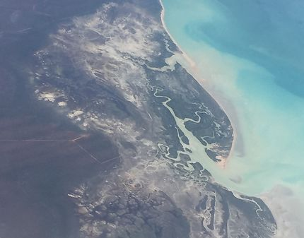 Australie depuis le ciel