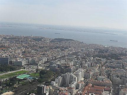 A vol d'oiseau : Lisbonne