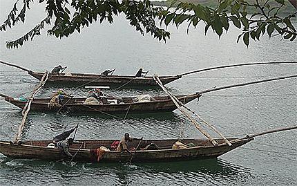 Pêcheurs du lac Kivu