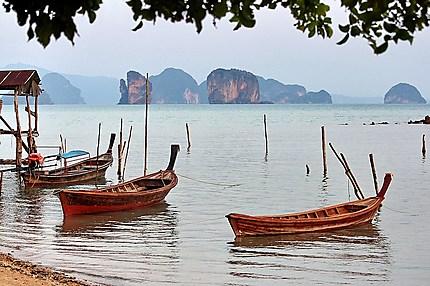 Ko Yao Noi long tails