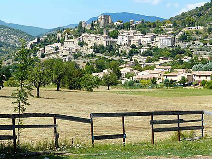 Village de Montbrun-les-bains