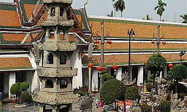 Wat Suthat (Temple de la Balançoire géante)