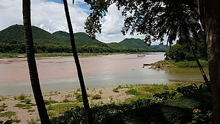 Le Mekong et son affluent