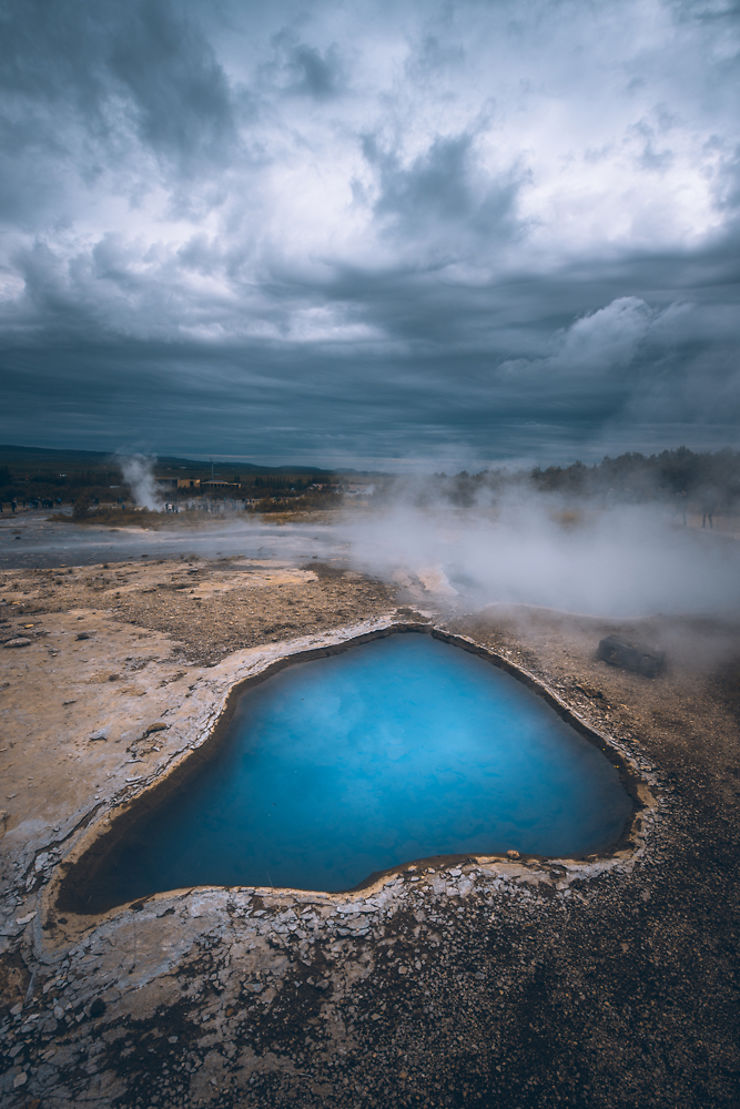Bleu sulfureux