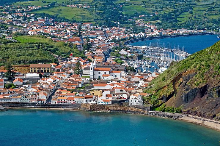 Horta, escale aux Açores vers l'Amérique