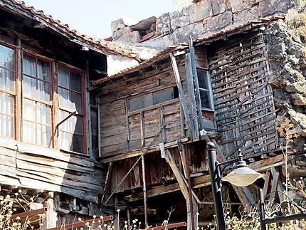Vieilles maisons à Antalya