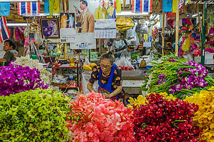 Le Pak Khlong Market