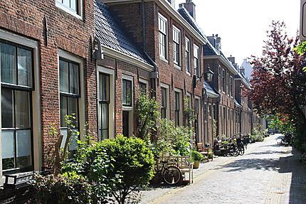 Haarlem et ses ruelles pavées