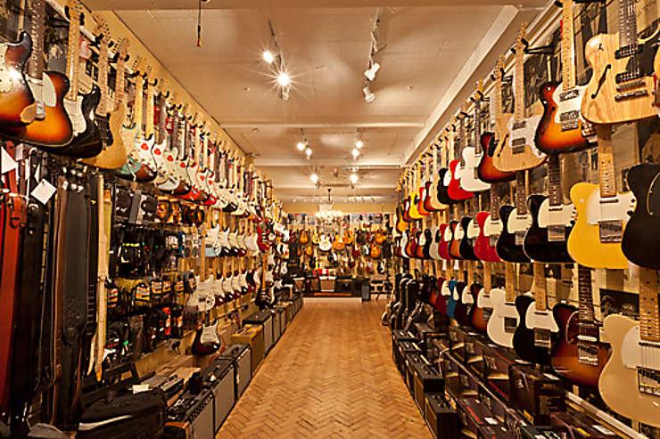 Itinéraire rock à Londres