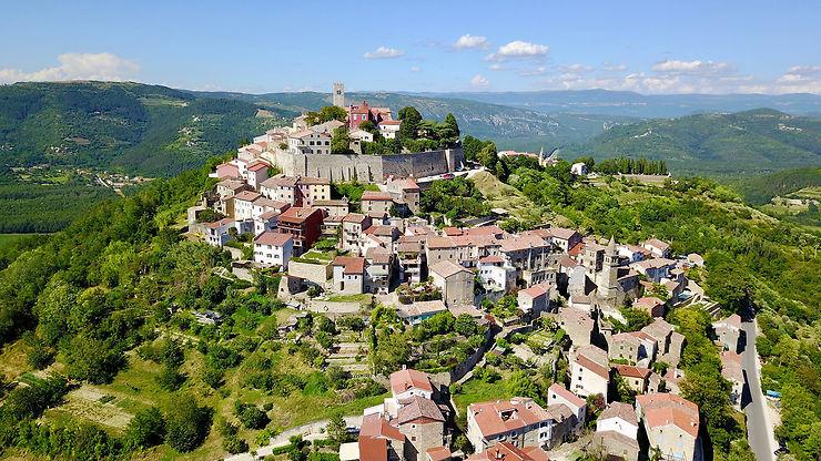 Motovun et les villages perchés de la Toscane croate - Istrie