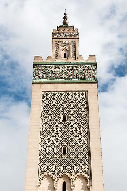 Grande Mosquée, le minaret