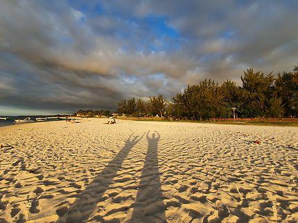 Coucher de soleil à Flic en Flac