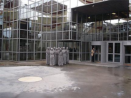 Entrée du Musée International de la Croix Rouge et du Croissant Rouge