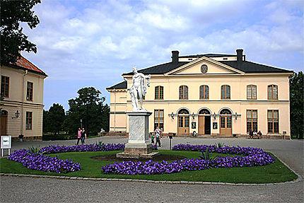 Le superbe théâtre du Drottningholm Slott